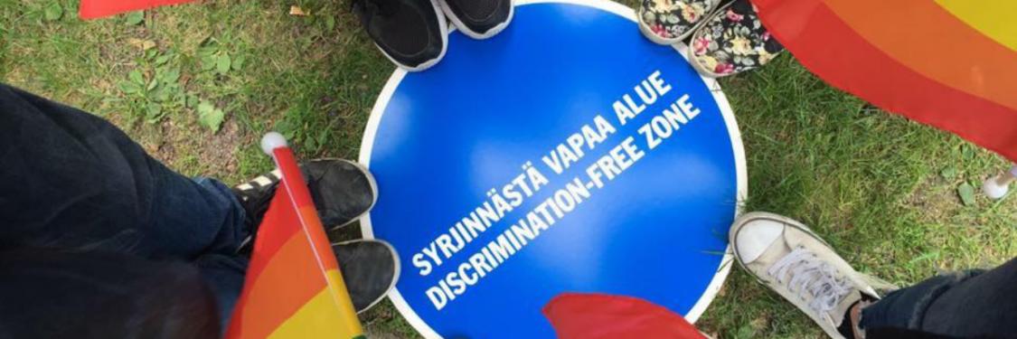 Syrjinnästä vapaa alue